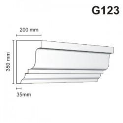 Gzyms elewacyjny G123 200x350mm