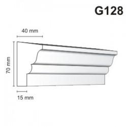 Gzyms elewacyjny G128 40x70mm