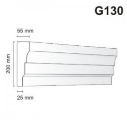 Gzyms elewacyjny G130 55x200mm