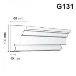 Gzyms elewacyjny G131 60x100mm