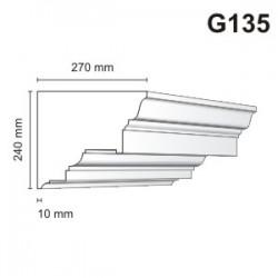 Gzyms elewacyjny G135 270x240mm