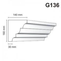 Gzyms elewacyjny G136 140x160mm