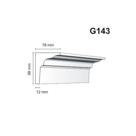 Gzyms elewacyjny G143 78x98mm
