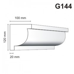 Gzyms elewacyjny G144 100x120mm