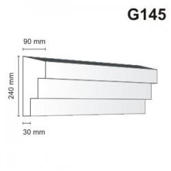Gzyms elewacyjny G145 90x240mm