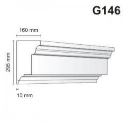 Gzyms elewacyjny G146 160x295mm