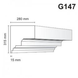 Gzyms elewacyjny G147 280x315mm