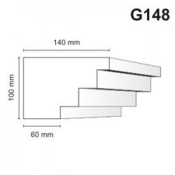 Gzyms elewacyjny G148 140x100mm