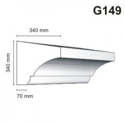 Gzyms elewacyjny G149 340x340mm