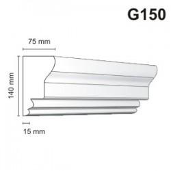 Gzyms elewacyjny G150 75x140mm