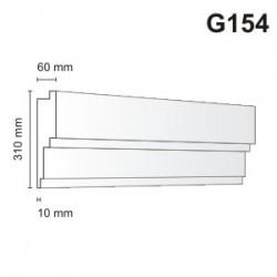Gzyms elewacyjny G154 60x310mm