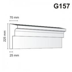 Gzyms elewacyjny G157 70x225mm
