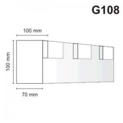 Gzyms elewacyjny G108 100x100mm