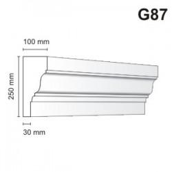 Gzyms elewacyjny G87 100X250mm