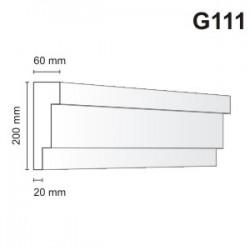 Gzyms elewacyjny G111 60x200mm