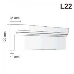 Listwa elewacyjna L22 35x120mm