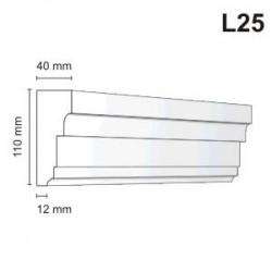 Listwa elewacyjna L25 40x110mm