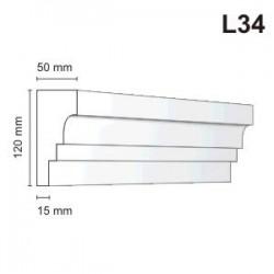 Listwa elewacyjna L34 50x120mm