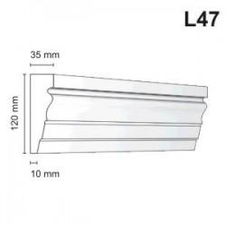 Listwa elewacyjna L47 35x120mm