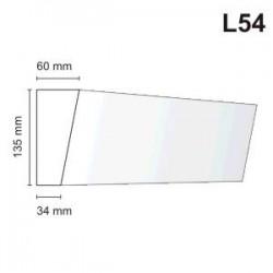 Listwa elewacyjna L54 60x135mm