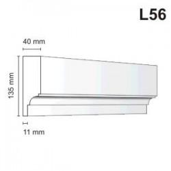 Listwa elewacyjna L56 40x135mm