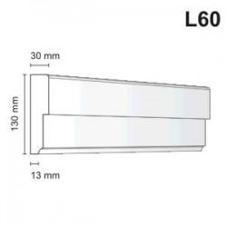 Listwa elewacyjna L60 30x130mm