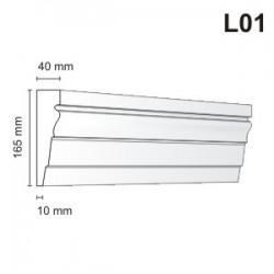 Listwa elewacyjna L01 40x165mm