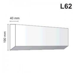Listwa elewacyjna L62 40x190mm