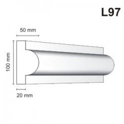 Listwa elewacyjna L97 50x100mm