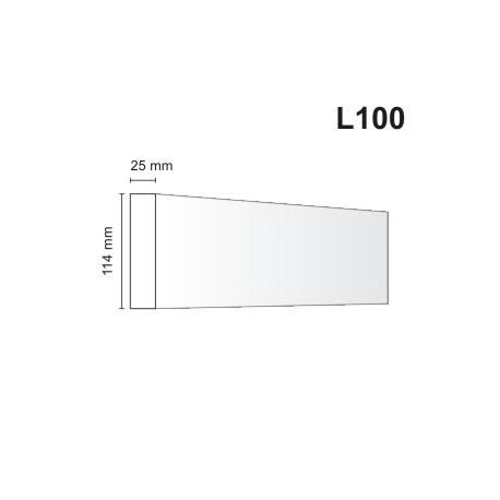 Listwa elewacyjna L100 25x114mm