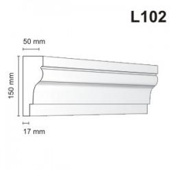 Listwa elewacyjna L102 50x150MM