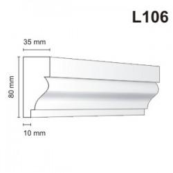 Listwa elewacyjna L106 35x80