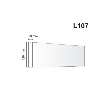 Listwa elewacyjna L107 20x120