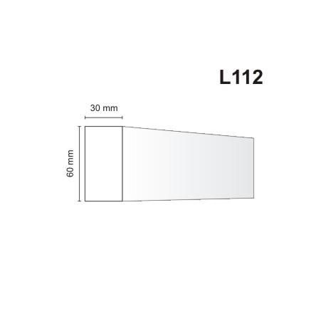 Listwa elewacyjna L112 30x60mm