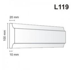 Listwa elewacyjna L119 20x100mm