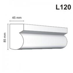Listwa elewacyjna L120 45x85mm