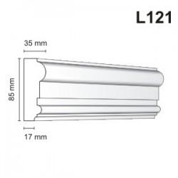 Listwa elewacyjna L121 35x85mm