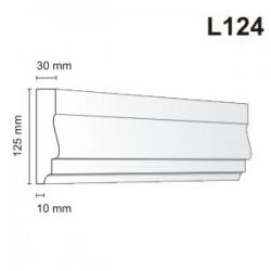 Listwa elewacyjna L124 30x125mm