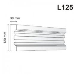 Listwa elewacyjna L125 30x120mm