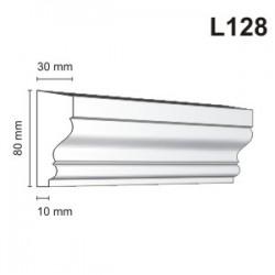 Listwa elewacyjna L128 30x80mm
