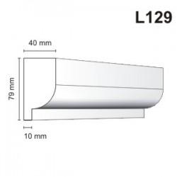 Listwa elewacyjna L129 40x79mm