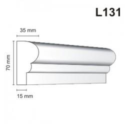 Listwa elewacyjna L131 35x70mm