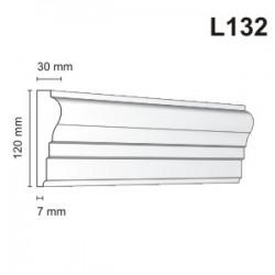 Listwa elewacyjna L132 30x120mm