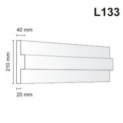 Listwa elewacyjna L133 40x210mm
