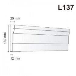 Listwa elewacyjna L137 25x160mm