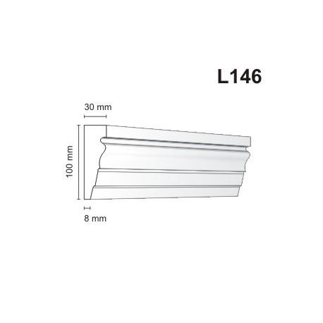 Listwa elewacyjna L146 30x100mm