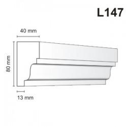 Listwa elewacyjna L147 40x80mm