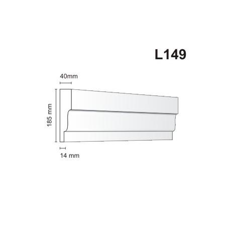 Listwa elewacyjna L149 40x185mm