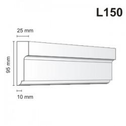 Listwa elewacyjna L150 25x95mm