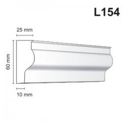 Listwa elewacyjna L154 25x60mm
